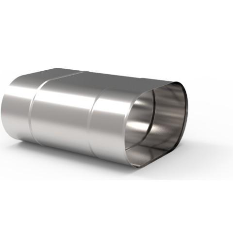 Komin ceramiczny Plewa Uni Las 12/12 (fi 140) 13mb, C.O. gaz turbo SPS