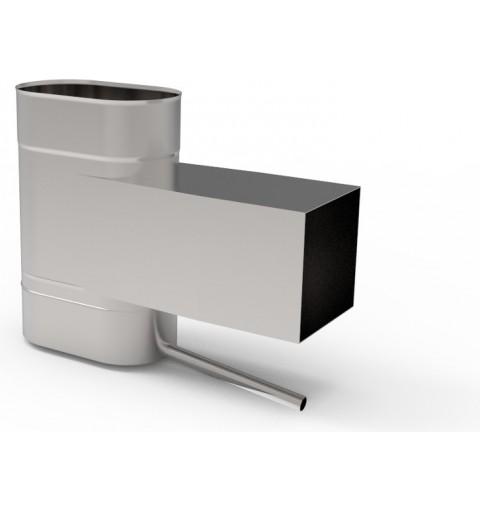 Komin ceramiczny izostatyczny Tona Tec fi 140 11mb, gaz SPS turbo