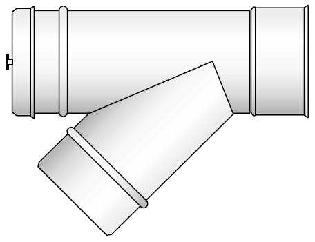 Wyczystka kwasoodporny koncentryczny wkład kondensacyjny izolowany