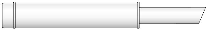 Wyrzut boczny kwasoodporny wkład kondensacyjny izolowany