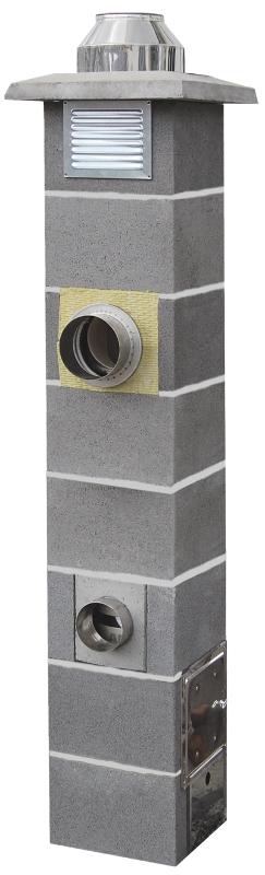 Jawar Nord komin ceramiczny izostatyczny system kominowy