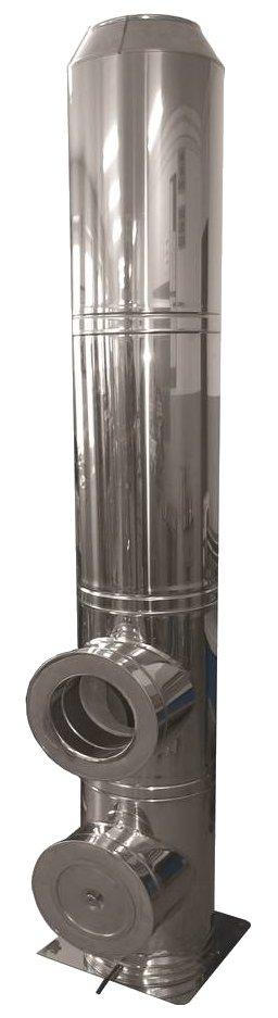 Jawar cerastal komin ceramiczno stalowy izostatyczny system kominowy