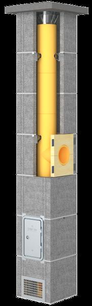 Presto Focus komin ceramiczny system kominowy