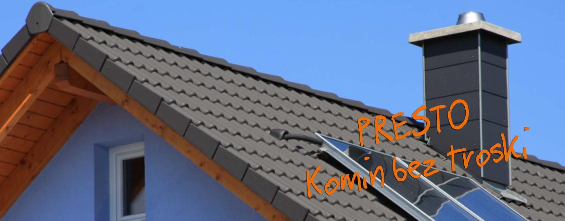 Presto komin ceramiczny system kominowy