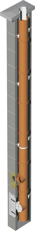 Tona Tec Norm komin ceramiczny system kominowy