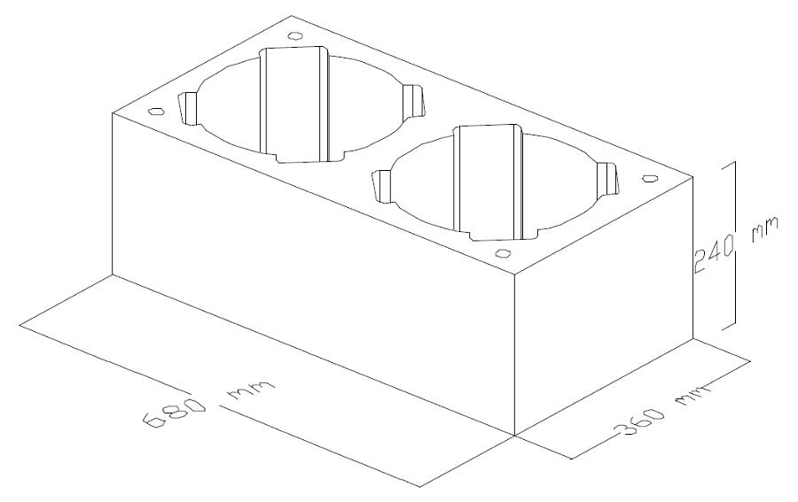 Pustak kominowy keramzytowy dwuciągowy dual duo leier schiedel komin ceramiczny system kominowy