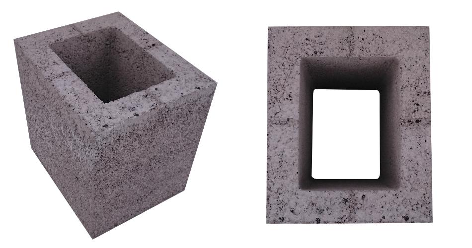 Pustak w1 wentylacyjny keramzytowy komin ceramiczny system kominowy
