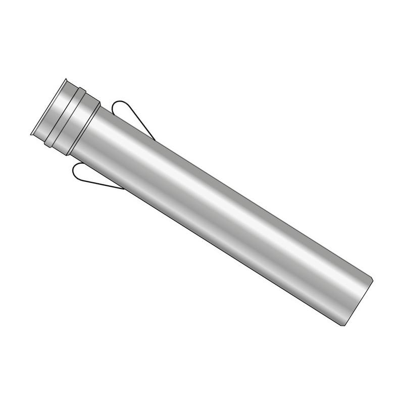 KK Rura 0,5m z uszczelką i uszami kwasoodporna 0,5mm fi 60