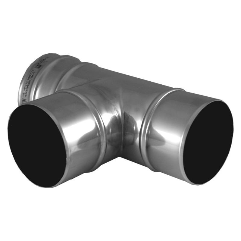 KK Trójnik spalin 87° z uszczelką kwasoodporny 0,5mm fi 250