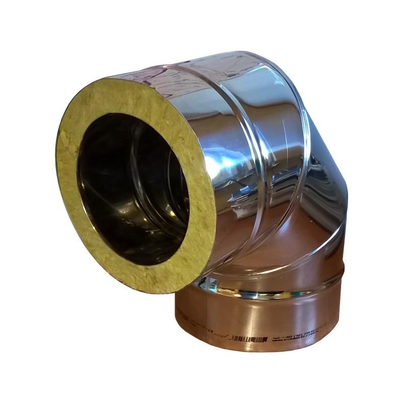 KKD Kolano 87° z uszczelką izolowane kwasoodporne 0,5mm fi 60