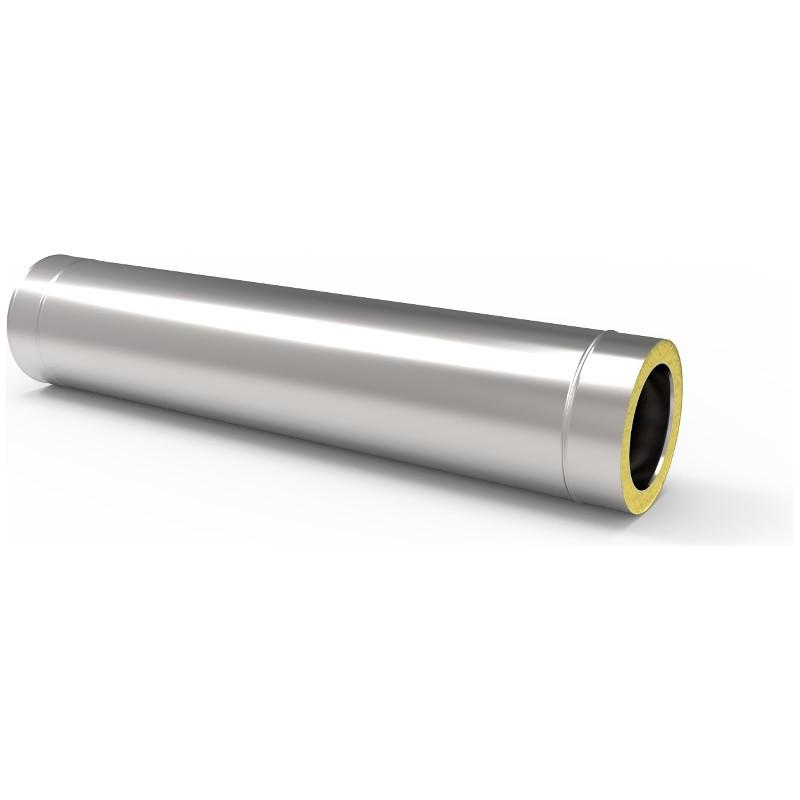 KKD Rura 1m z uszczelką izolowana kwasoodporna 0,5mm fi 130