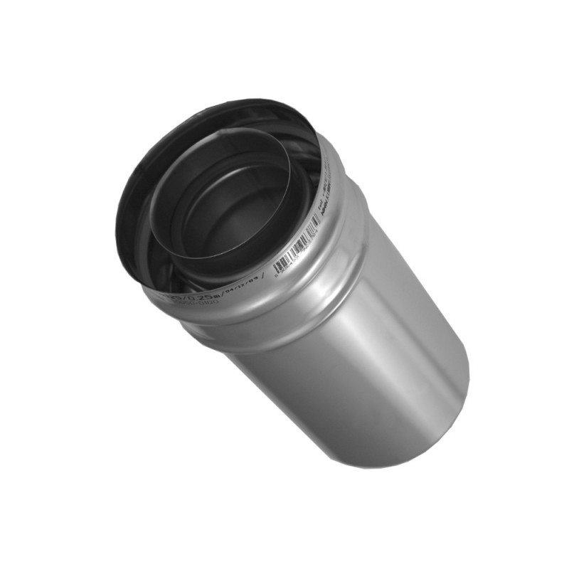 KP Rura 0,25m kwasoodporna koncentryczna 0,5mm fi 60/100