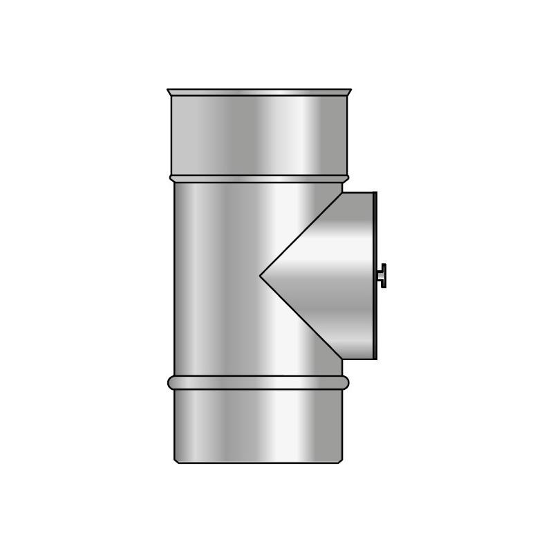KPD Wyczystka trójnikowa izolowana kwasoodporna koncentryczna 0,5mm fi 60/100/160