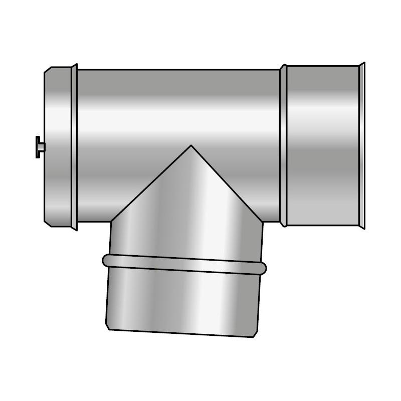KPD Wyczystka pozioma 87° izolowana kwasoodporna koncentryczna 0,5mm fi 100/150/210