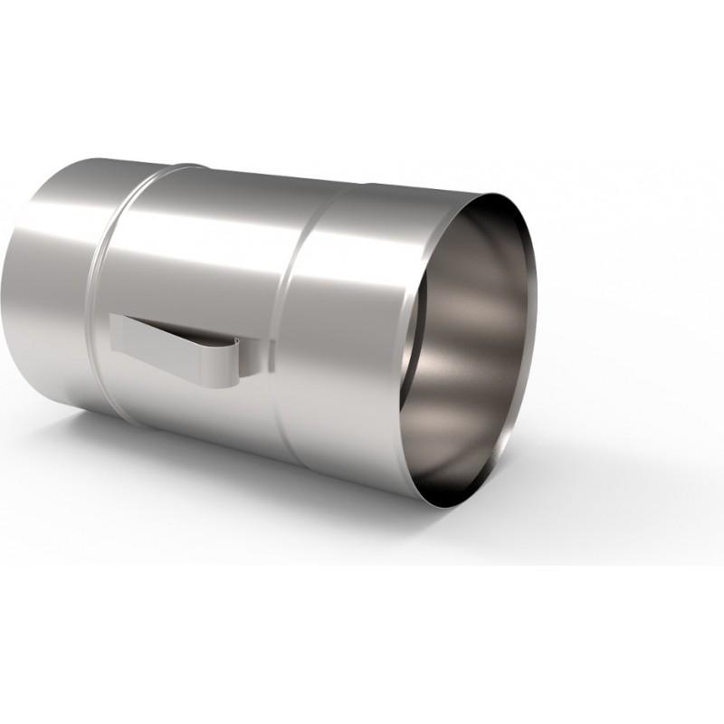 KZS Wkład kominowy rura z uszami żaroodporna 1,0mm 0,25m fi 150