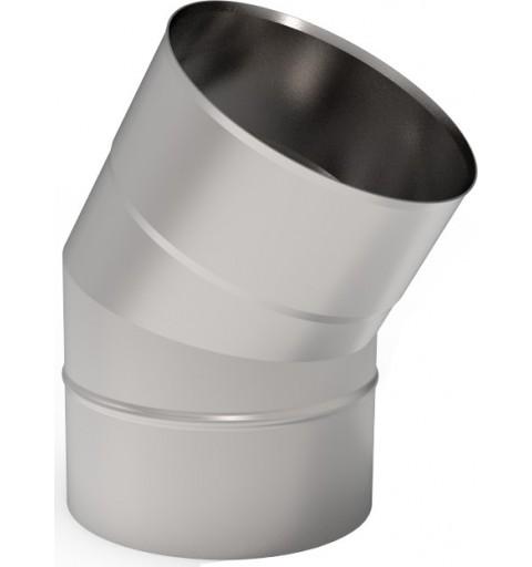 Zaktualizowano KZS Kolano 45° kominowe żaroodporne 1,0mm fi 225 OK04