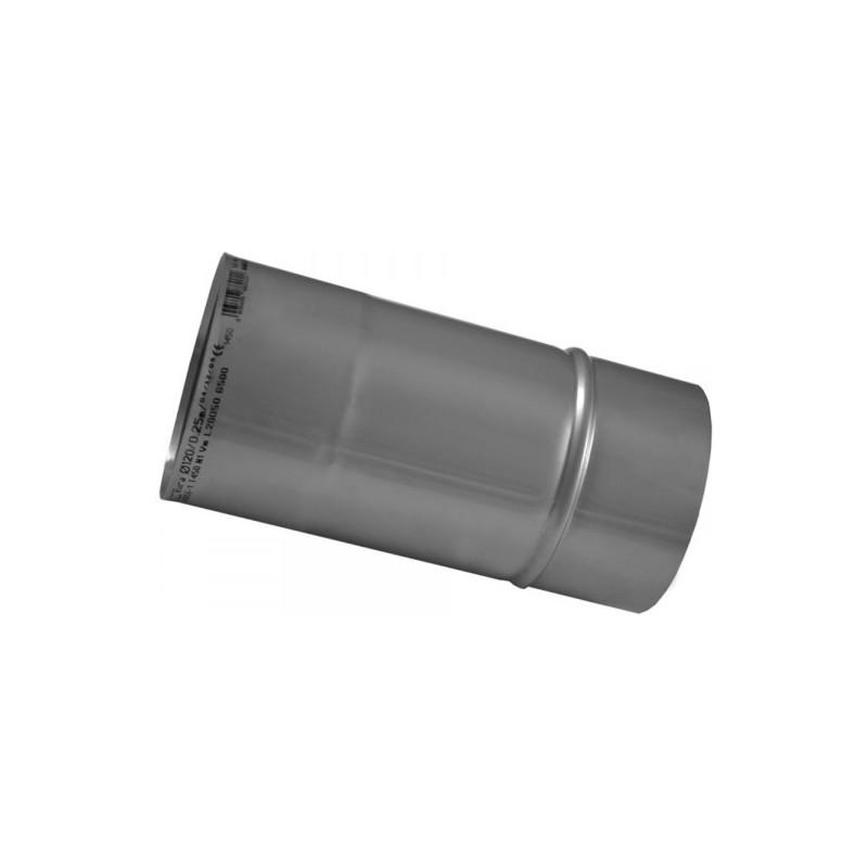 KS Wkład kominowy rura kwasoodporna 0,5mm 0,25m fi 110