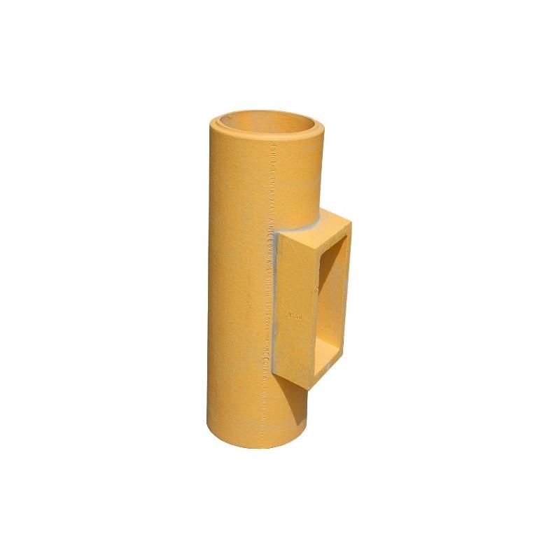Wyczystka ceramiczna rewizja komina fi 200