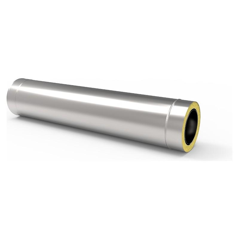 KD Rura kwasoodporna 0,5 mm z oszewką izolowana fi 160/220 mm 1m