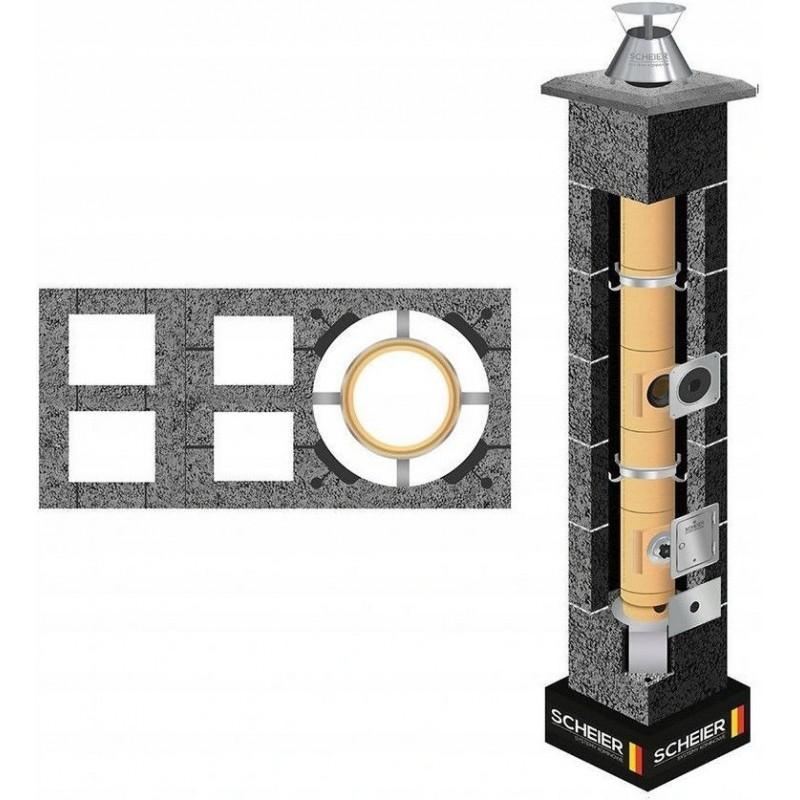 Komin systemowy Scheier Turbo KW2+W2 fi 100 12mb