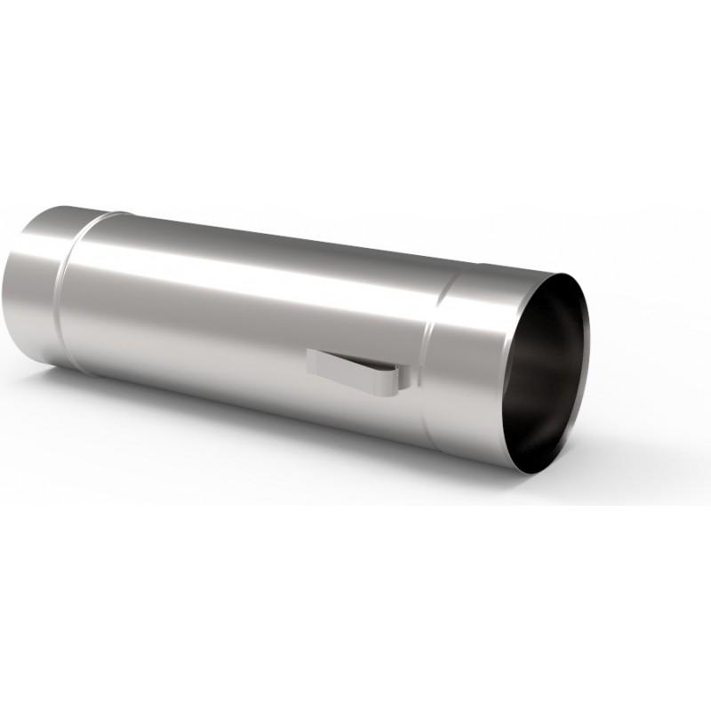 KS Wkład kominowy rura kwasoodporna z uszami 0,5mm 0,5m fi 100