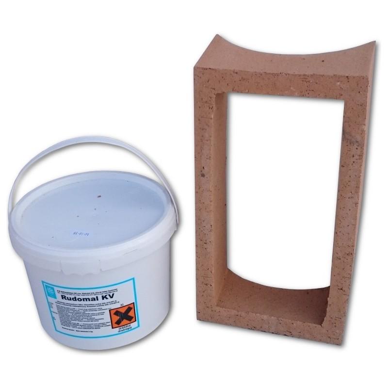 Zestaw naprawczy wyczystki ceramicznej komina fi 200