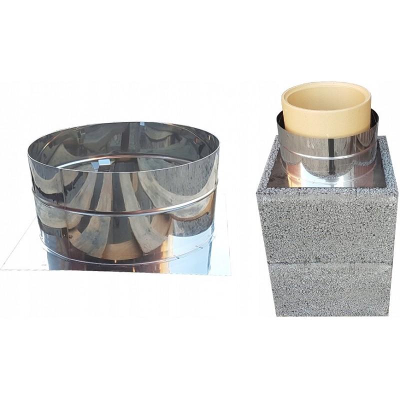 Szalunek tracony komina do wylania płyty przykrywającej (wysoki)