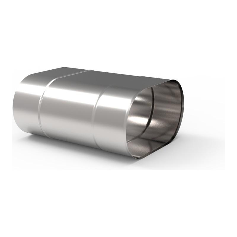 KO Rura 0,25m owalna kwasoodporna 1,0 mm 110x200