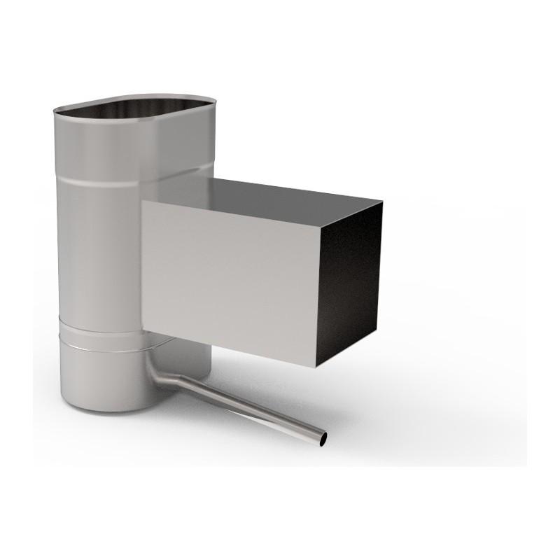 KO Wyczystka z odskraplaczem owalna szeroka kwasoodporna 1,0 mm 140x250