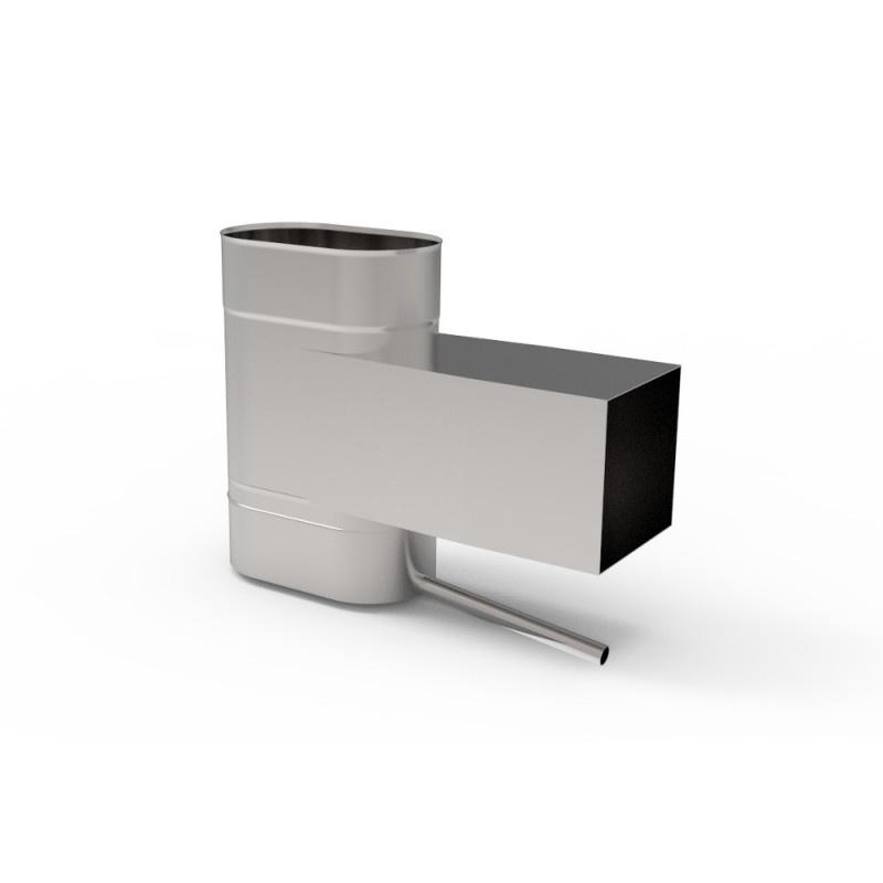 KO Wyczystka z odskraplaczem owalna wąska kwasoodporna 0,8 mm 120x240
