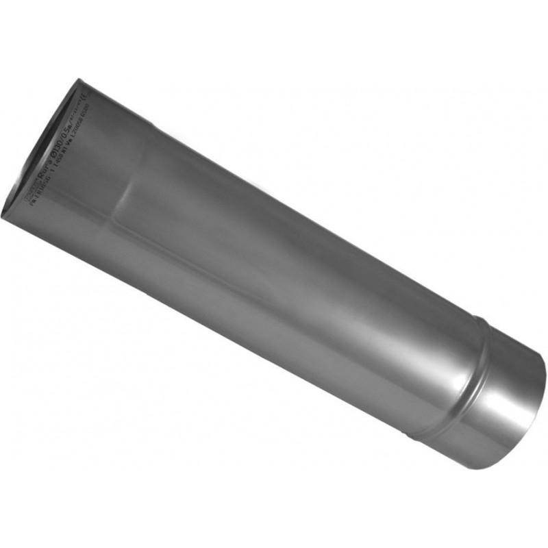 KS Wkład kominowy rura kwasoodporna 0,5mm 0,5m fi 80