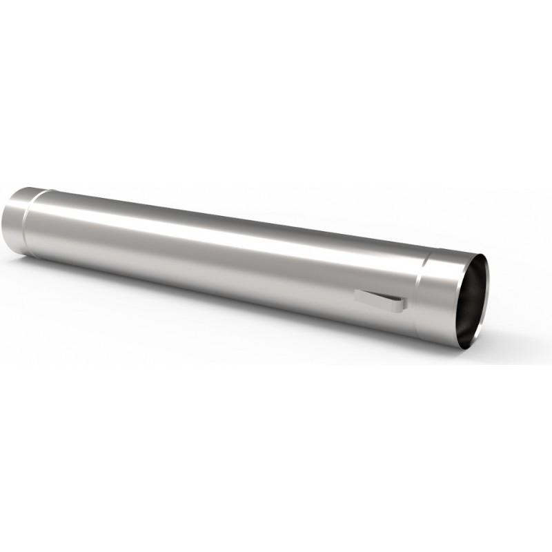 KS Wkład kominowy rura kwasoodporna z uszami 0,5mm 1m fi 80