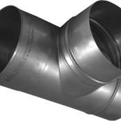 KS Trójnik kominowy 90° kwasoodporny 0,8mm fi 150