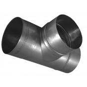 KS Trójnik kominowy 90° kwasoodporny 0,8mm fi 180