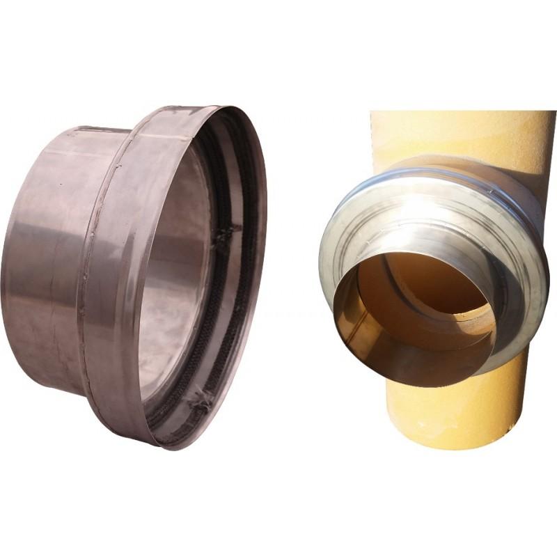Adapter złączka ze sznurem redukcja trójnik ceramiczny fi 180 rura 180