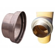 Adapter złączka ze sznurem redukcja trójnik ceramiczny fi 180 rura 160