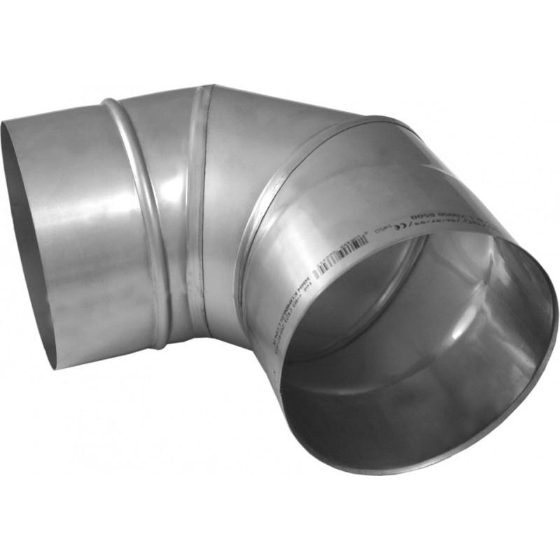 KS Kolano 90° kwasoodporne 1,0 mm wkład fi 120