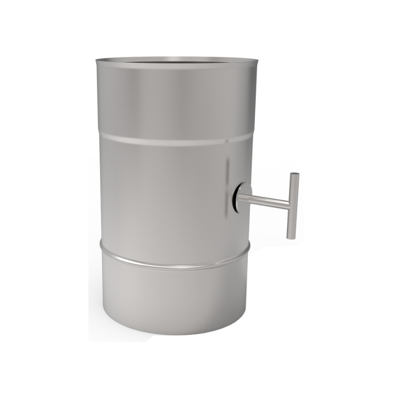 KS Przepustnica kwasoodporna 1,0 mm wkład fi 130