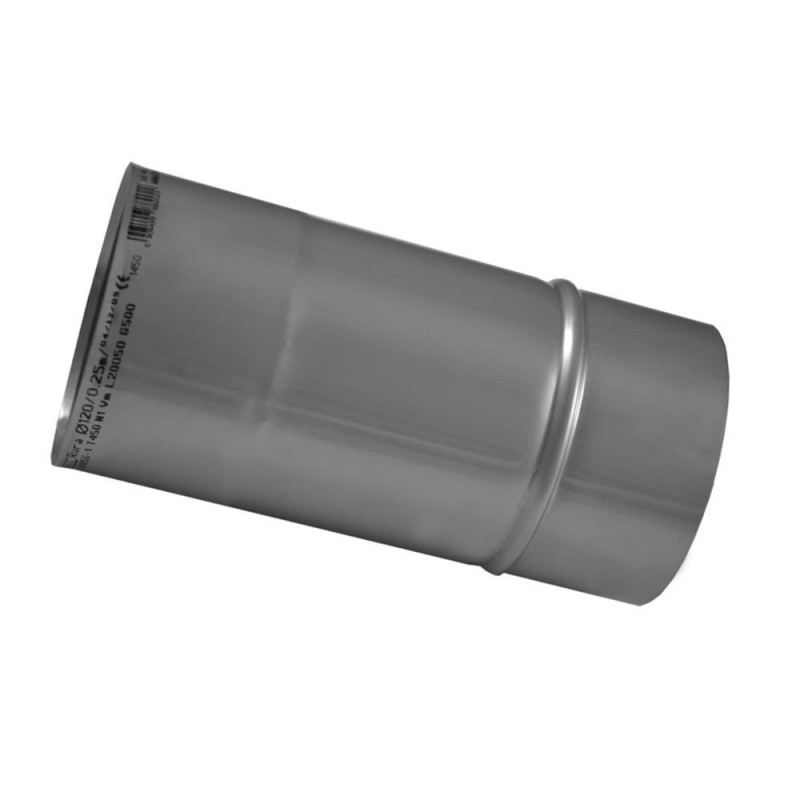 KZS Wkład kominowy rura żaroodporna 1,0 mm 0,25m fi 160