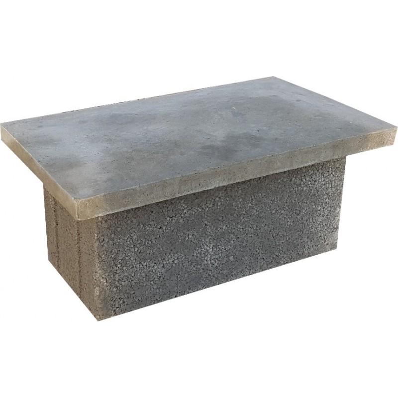 Płyta betonowa przykrywająca na pustaki wentylacyjne W3