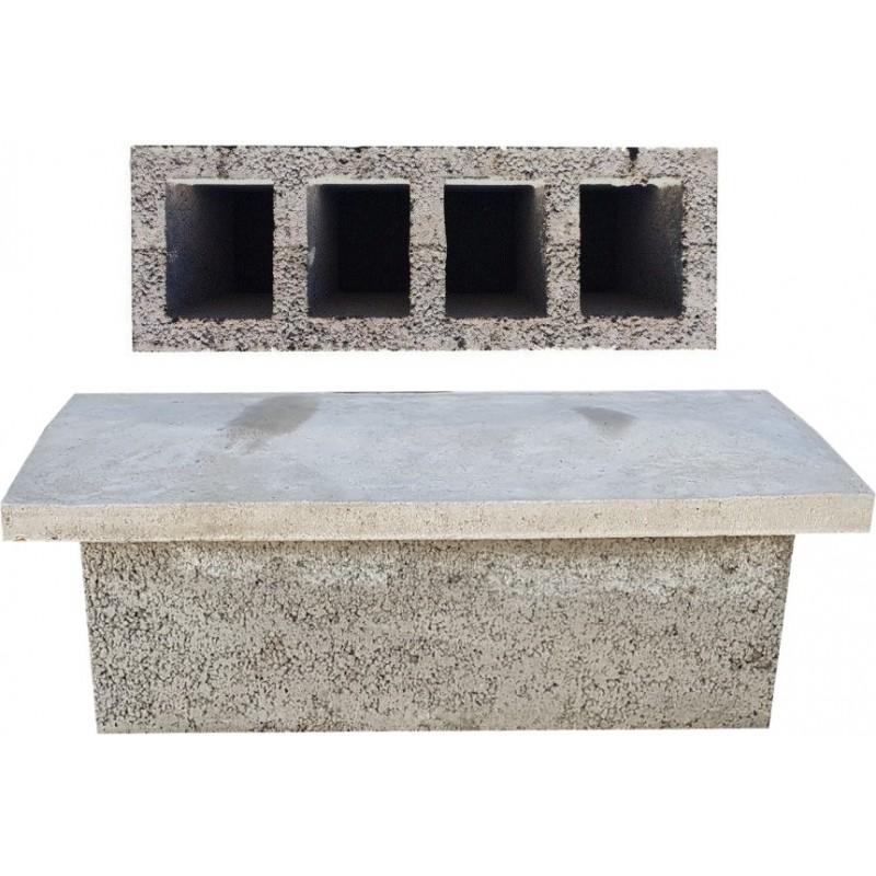 Płyta betonowa przykrywająca na pustaki wentylacyjne W4