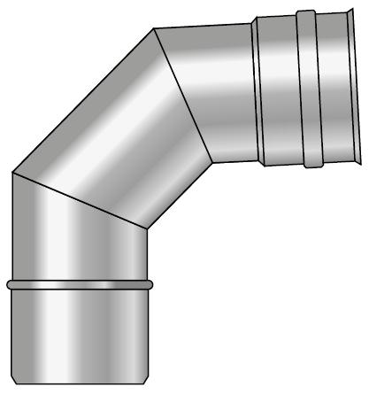 Kolano kwasoodporne wkład kondensacyjny