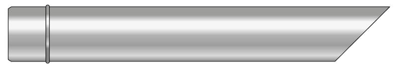 Wyrzut boczny kwasoodporny wkład kondensacyjny
