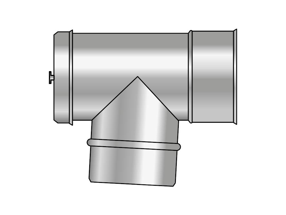 Wyczystka kwasoodporna koncentryczna wkład kondensacyjny izolowany