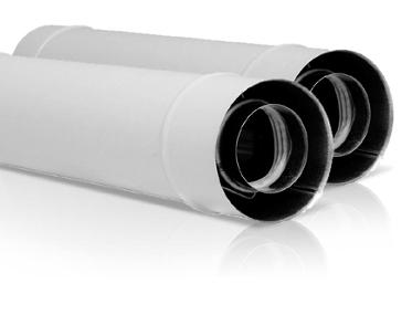 wkład kwasoodporny koncentryczny kondensacyjny z uszczelkami