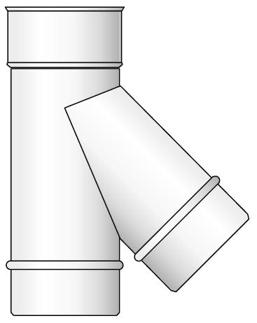 trójnik kwasoodporny koncentryczny wkład kondensacyjny izolowany