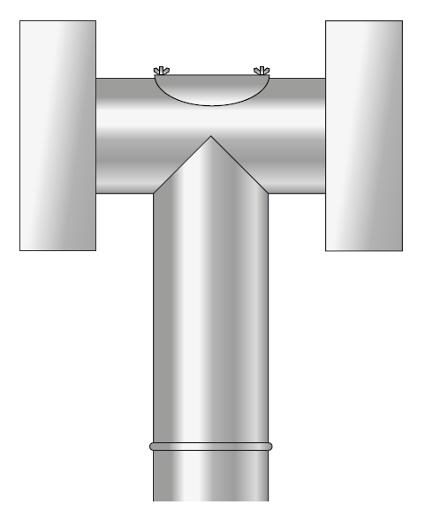 Deflektor kwasoodporny kominowy
