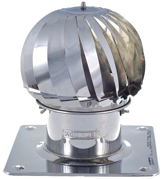 Nasada obrotowa kominowa turbomax turbowent