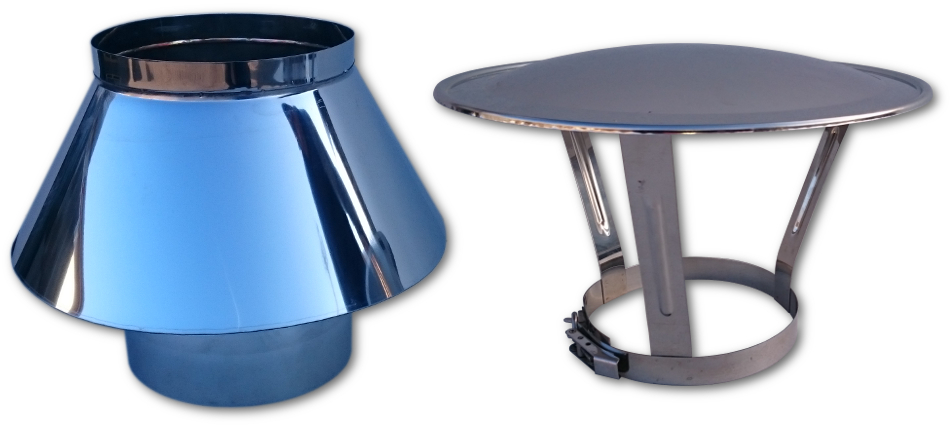 daszek parasol na opasce kwasoodporny na komin ceramiczny rura ceramiczna