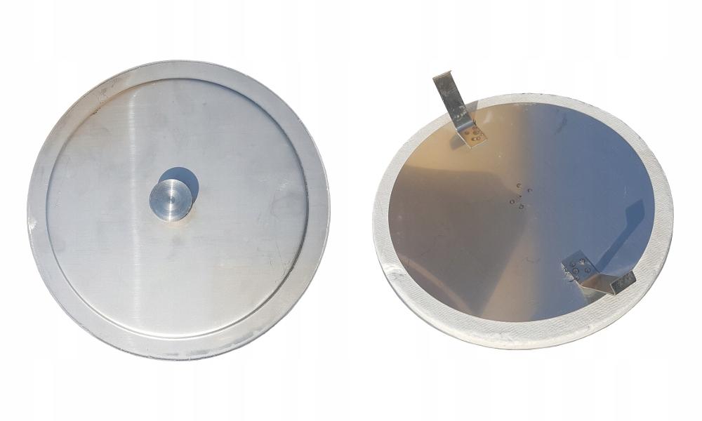 Zaślepka trójnika dekiel komina ceramicznego systemowego